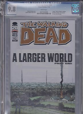 Image The Walking Dead # 93 Cgc Graded 9.8 Nm/m Issued   01/2012  S# 0271533008
