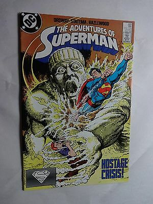 Adventures of Superman #443   High Grade VF/NM   Jerry Ordway