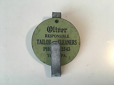 Oliver Responsible Tailors - Cleaners, York, PA advertising hanger hook