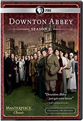 Downton Abbey: Season 2 (DVD, 2012, 3-Disc Set) NEW Factory Sealed!