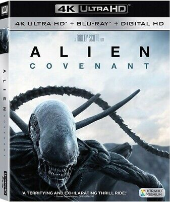Alien: Covenant - 2 DISC SET (2017, Blu-ray NEUF) (RÉGION A)