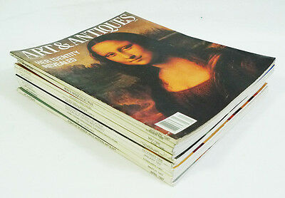 Vintage Art & Antiques Magazine Back Issues Lot of 11