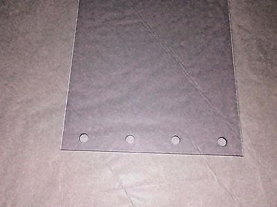 "CLEAR PLASTIC~VINYL PERFORATED DOOR STRIP CURTAIN  8"" wide x 12 ft x 80mil"