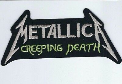 Metallica Creeping Death Embroidered Patch !