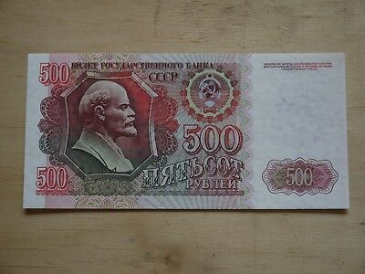 (F1P8) Unc Russia 500 Ruble 500 BANK NOTE Uncirculated MINT