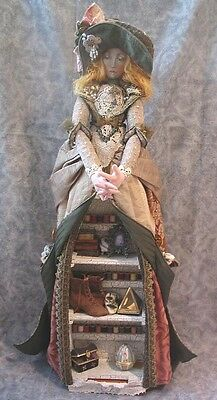 """*new* Cloth Art Doll (Paper) Pattern """"treasure Keeper"""" By Christine Shively"""