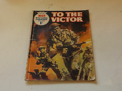 WAR PICTURE LIBRARY NO 210!,dated 1963!,GOOD for age,great 54!YEAR OLD issue.