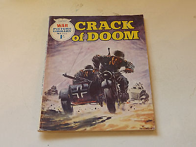 WAR PICTURE LIBRARY NO 432!,dated 1968!,V GOOD for age,great 49!YEAR OLD issue.