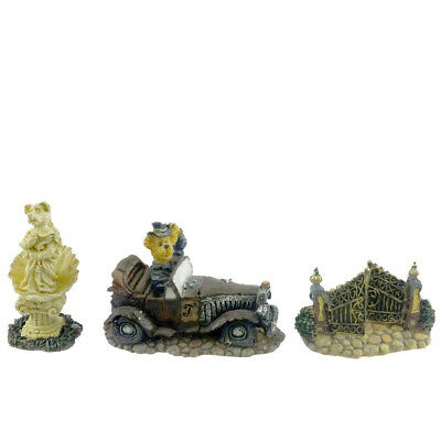Boyds Bears Resin TRUMBLES MANSION ACCESSORIES Bearly-Built Villages 195201