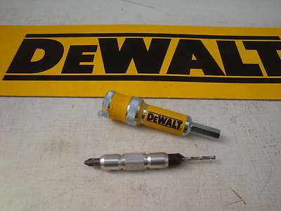 DEWALT DT7600 FLIP & DRIVE HOLDER UNIT No 6 C'SK & PILOT BIT TAKEN FROM A DT7612