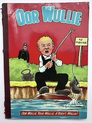 OOR WULLIE ANNUAL 1980 / 1981 - Vintage Comic Annual, Sunday Post Character *