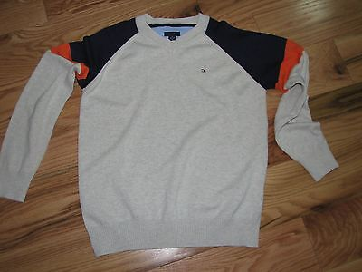 Tommy Hilfiger Boys BAck to school  Sweater Size 12 - 14