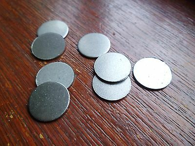 20 Mild Steel Discs 15Mm X 0.9Mm Thick Ideal For Welding