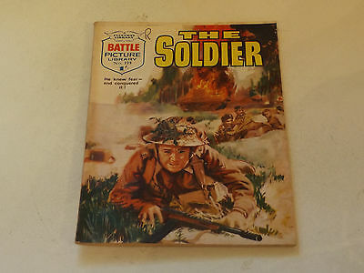 BATTLE PICTURE LIBRARY NO 229,dated 1965!,GOOD FOR AGE,VERY RARE,52 yrs old.