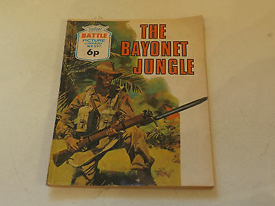 BATTLE PICTURE LIBRARY NO 597,dated 1972!,GOOD FOR AGE,VERY RARE,45 yrs old.
