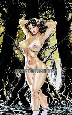 Cavewoman Labyrinth Special Edition Signed Print by Budd Root