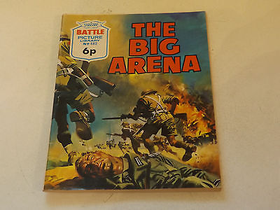 BATTLE PICTURE LIBRARY NO 682,dated 1972!,V GOOD FOR AGE,VERY RARE,45 yrs old.