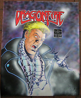 Barry Blair Cover Art Painting Dragonfire #2 Huge