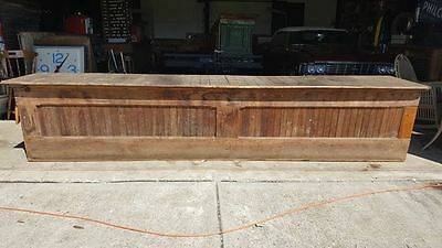 Antique General Store Counter