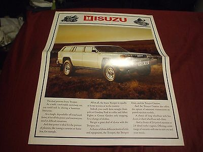 UNDATED ISUZU TROOPER Car Brochure - (UK MARKET)