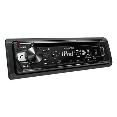 Kenwood Single DIN In-Dash CD Receiver Stereo with Built-In Bluetooth   KDC-BT21