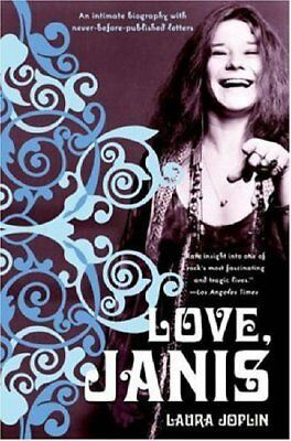 Love, Janis by Joplin, Laura Paperback Book The Cheap Fast Free Post