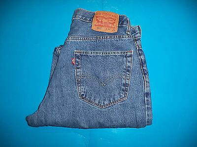 Mens Levis 550 Relaxed Fit Blue Jeans size 34 x 29   ..#300