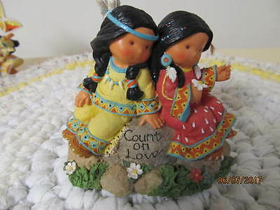 "Friends Of The Feather Figurine ""count On Love"" Dated 2001"