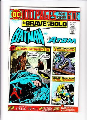 Brave and Bold #115 The Batman Atom strict NM/NM- 9.2  High-Grade  More up
