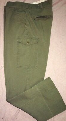 Boy Scouts BSA Long Green Official Uniform Pants Youth