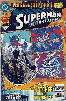 SUPERMAN in Action Comics #689 (1993) DC VF/NM REIGN of THE SUPERMEN!
