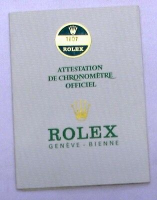 ROLEX GUARANTEE CERTIFICATE MODEL 1807 (vintage day-date), USA, 1974, 570.01.300