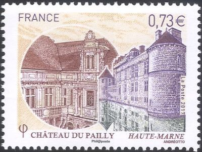 France 2017 Pailly Chateau/Buildings/Architecture/Tourism/Heritage 1v (n45734)
