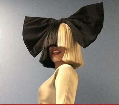 Hot Sale Sia Black Gold Blonde Color Wig Short Bobo Hair Wig This is Acting