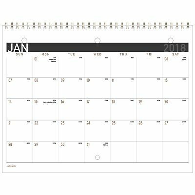 At-A-Glance PM170X28 Contemporary Small Monthly Desk/wall Calendar, 11 X 8 1/2,