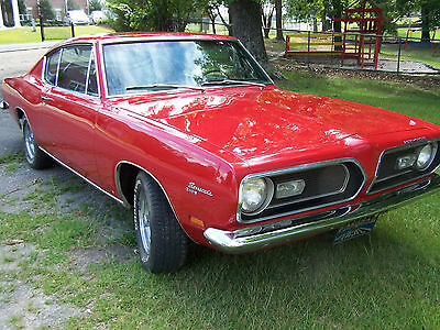 """1969 Plymouth Barracuda  1969 Plymouth Barracuda 340 """"S"""" - 4spd - Numbers matching - All original - Mint!"""