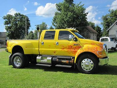 2006 Ford Other Pickups F-650 CREW CAB CAT DIESEL 2006 CUSTOM FORD F-650 CREW CAB W/ PICKUP BED 7.2L CAT TURBO DIESEL 31K