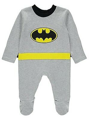 BRAND NEW / UNWORN ( DC Batman All in One With Cape ) Size 3-6 Months