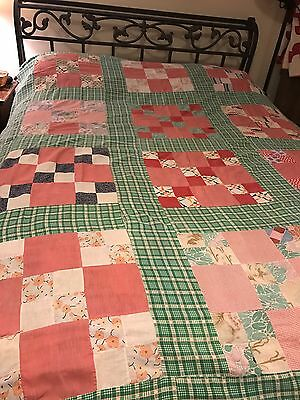 old quilt top