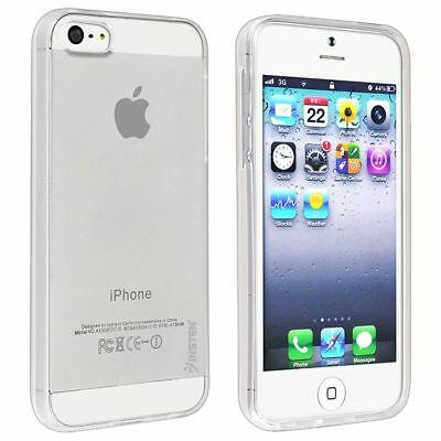 Clear TPU Rubber GEL Case Cover For Apple iPhone 5 5S 5th Generation