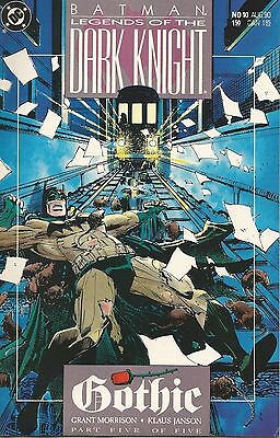 Batman: Legends of the Dark Night #10 ~ VF/NM DC 1990 ~ Gothic Part 5 (of 5)