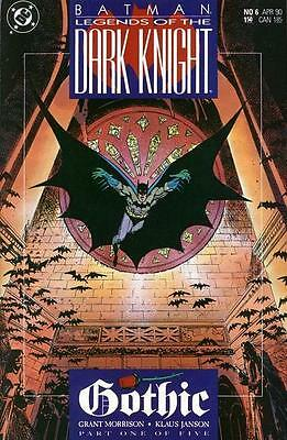 Batman: Legends of the Dark Night #6 ~ VF/NM DC 1990 ~ Gothic Part 1 (of 5)