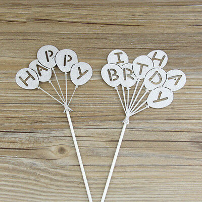 New Style Happy Birthday Cake Topper Decoration for Birthday Party