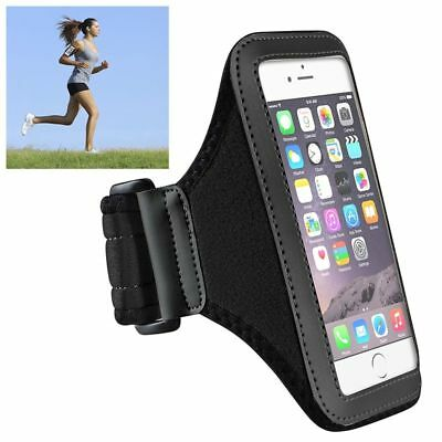 Black Workout Gym Pouch Armband Sportband Case Cover For Apple iphone 7  6 4.7