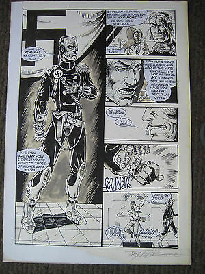 SALE! Tim Tyler Vigil Original Art Ravage Page 8 Faust