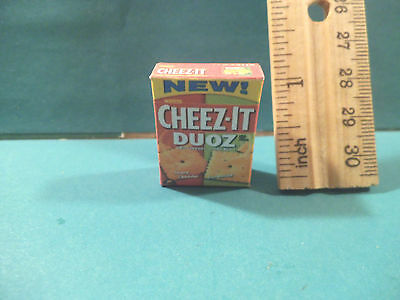 Barbie 1:6 Kitchen Food Miniature Box of Triscuit Crackers