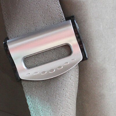 New 2pcs Car Vehicle Seat Belts Clips Safety Adjustable Stopper Buckle Clip