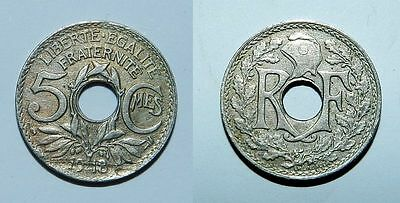 France : 5 Centimes 1918