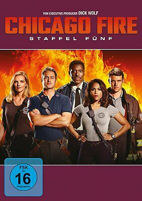 Vorbestellung: Chicago Fire - Season/Staffel 5 # 6-DVD-BOX-NEU