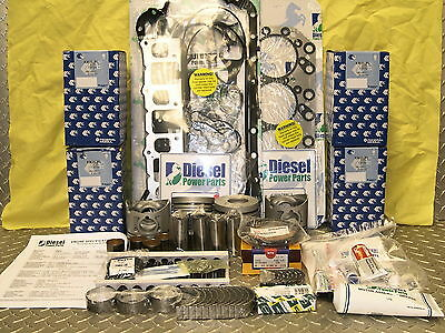 Holden Rodeo 4Jb1T  2.8 Litre Turbo Diesel Best Available  Engine Rebuild Kit